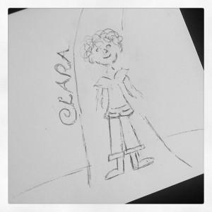 Clara Sketch